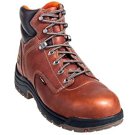 Timberland PRO Boots: Men's 89691 TiTAN EH Brown Composite Toe Boots