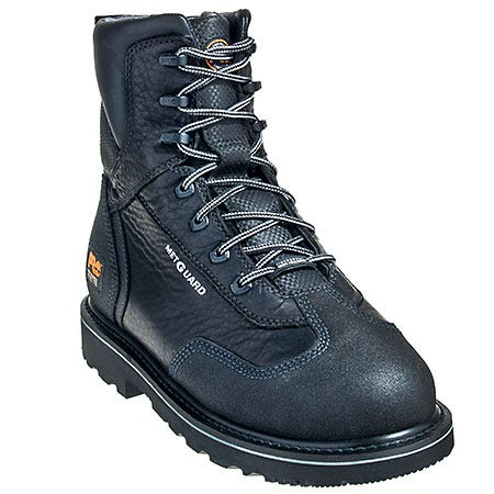 Timberland Pro Boots Men Mens Black Steel Toe Met Guard 90652-7M