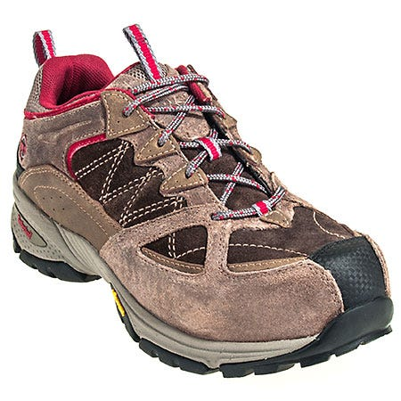 Timberland PRO Shoes: Women's 90666 Willow Trail Brown EH Alloy Toe Shoes
