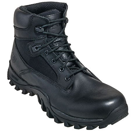 Timberland Boots: Men's Black 90671 Valor EH Waterproof 6 Inch Military Boots