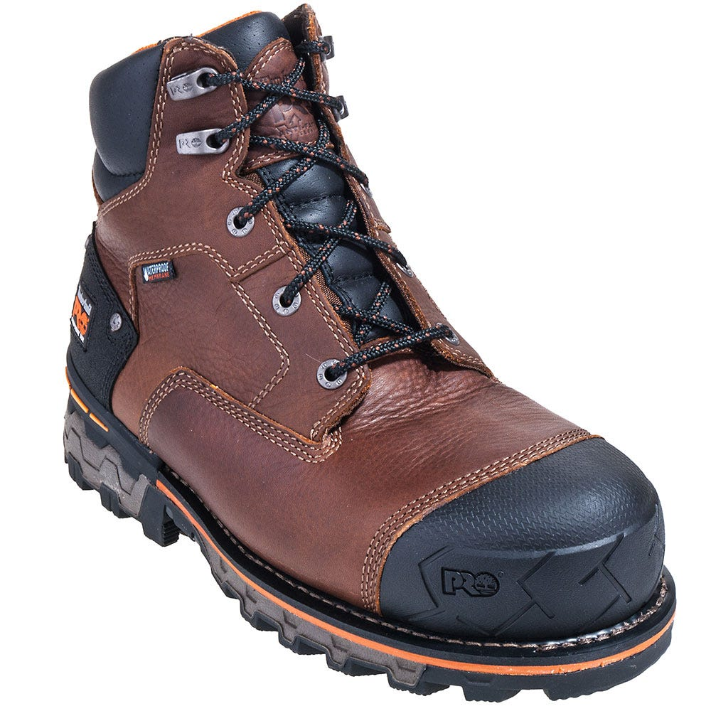 Timberland PRO Boots: Men's 92641 Boondock EH Composite Toe Insulated Boots
