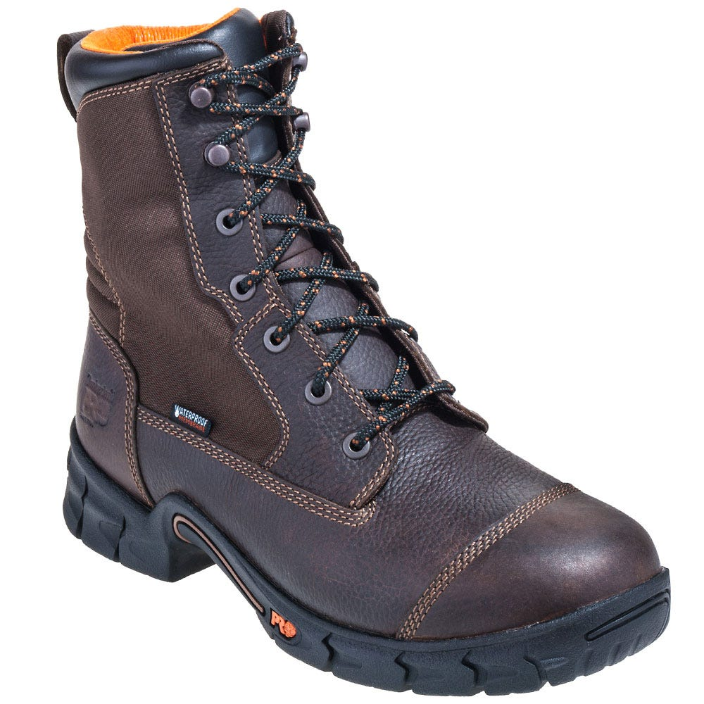 Timberland PRO Boots: Men's Brown 92643 Excave EH Waterpoof Boots