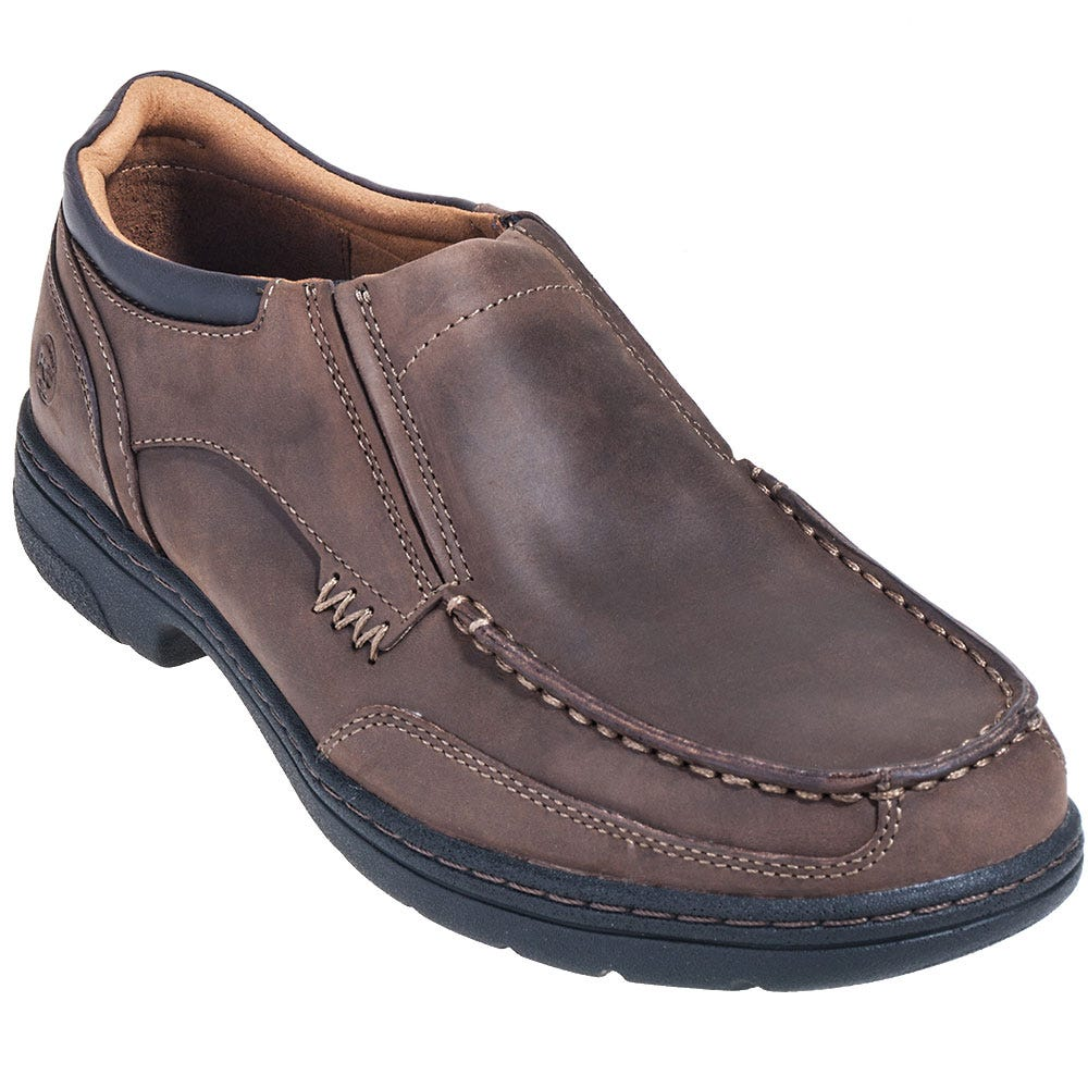 Timberland PRO Shoes: Men's Brown TB092648214 Branston ESD Slip On Shoes