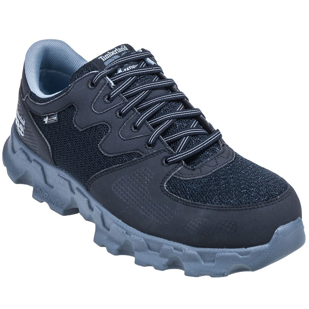 Timberland PRO Shoes: Men's Black 92649 Powertrain ESD Alloy Toe Shoes