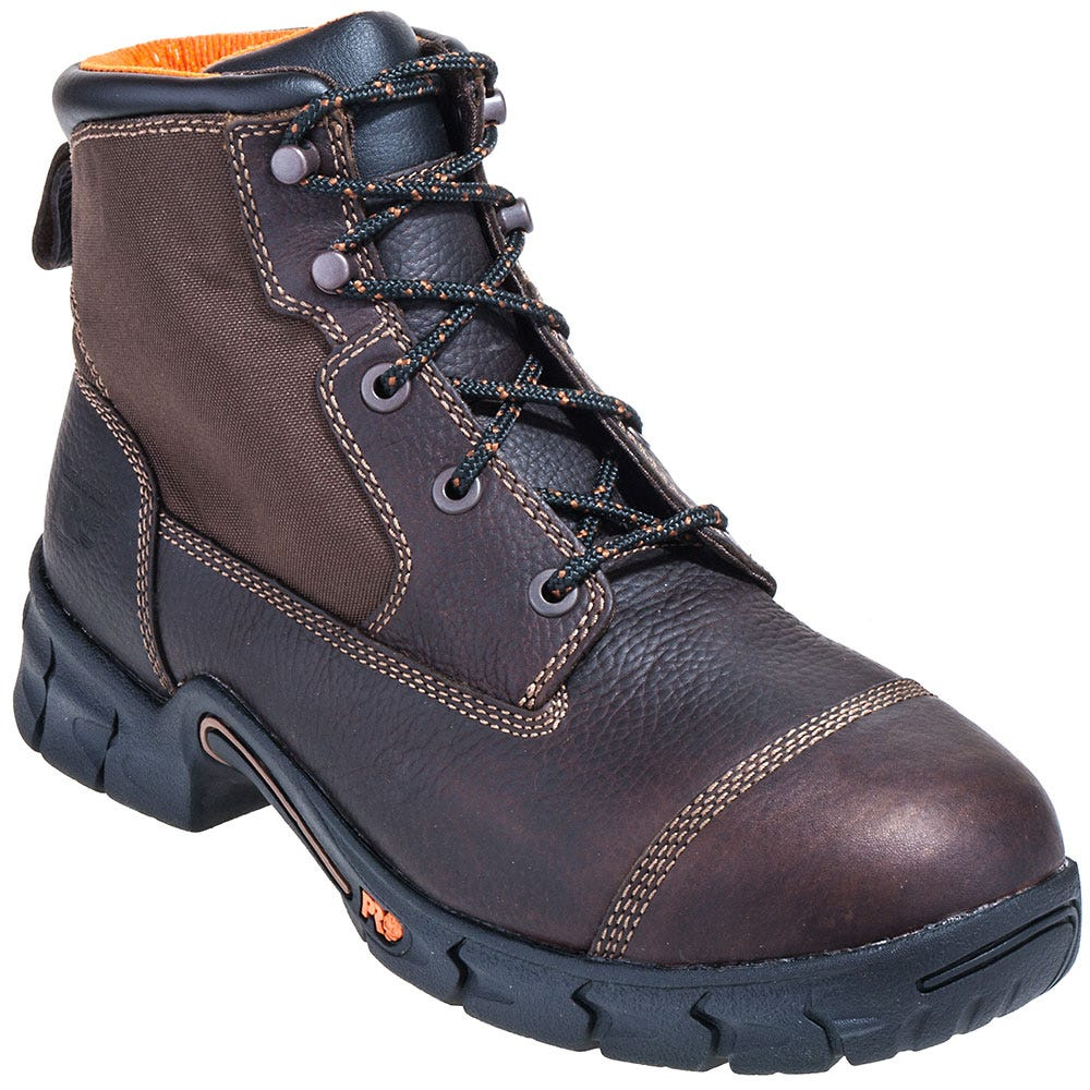 Timberland PRO Boots: Men's Brown 92675 Excave EH Steel Toe Boots