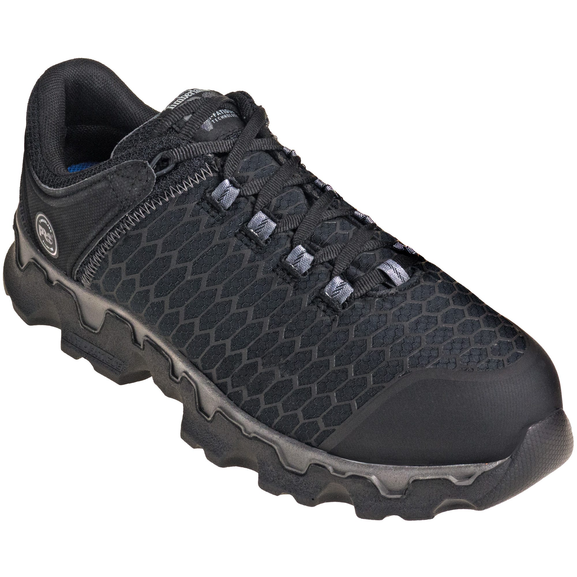 Timberland PRO TB0A1B6U 001 Alloy Toe ESD Powertrain Sport Black Athletic Work Shoes