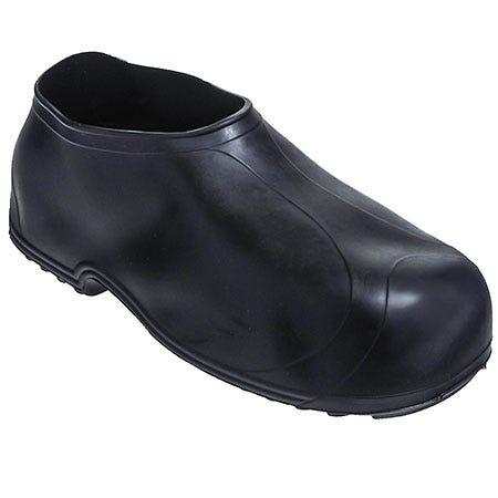 Tingley Men's 1300 Black Waterproof Rubber Work Overshoes
