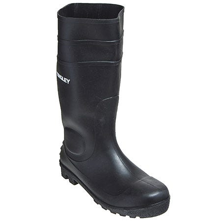 Tingley Rubber Unisex 31151 Black Waterproof 15 Inch PVC Economy Knee Boots