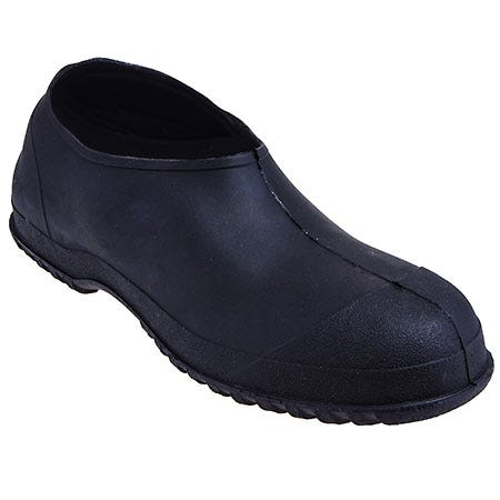 Tingley Overshoes: Men's Waterproof 35111 Black Workbrutes PVC Overshoes