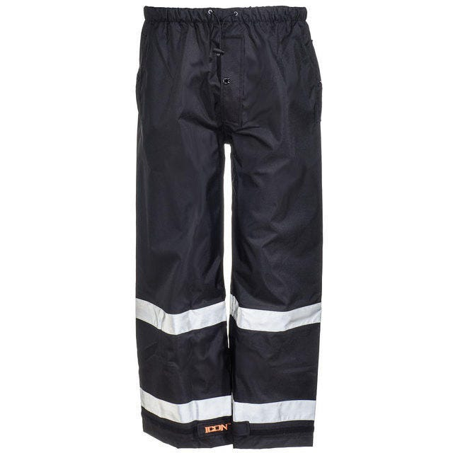 Tingley Pants: Men's P24123 Waterproof Breathable Reflective Stripe Pants