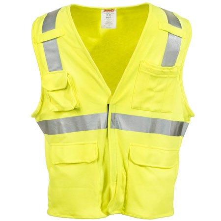 Tingley Rubber Men's V81832 High Visibility Flame Resistant Safety Vest