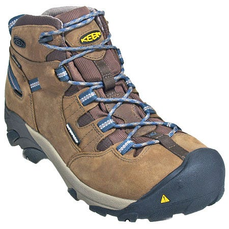 Keen Footwear: Men's 1007004 Steel Toe Waterproof Black Detroit Work Boots