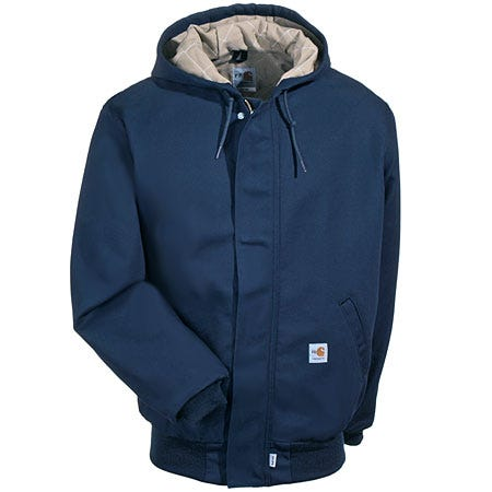Carhartt Jackets: Women's Navy FR Insulated Jacket WFRJ130 DNY Sale $190.00 Item#WFRJ130DNY :