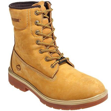 Wolverine Boots Men's Waterproof 10280 Nubuck Leather Polk Work Boots