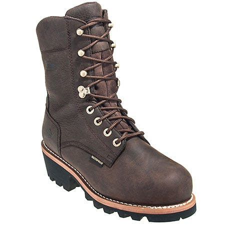 Wolverine Boots Men's Steel Toe 10281 EH Nantucket Logger Boots