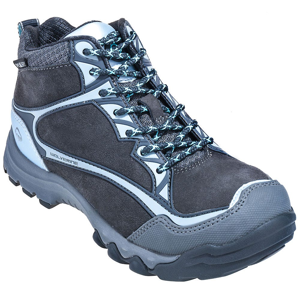 Wolverine Boots Women's Steel Toe Hiking Boots 10387