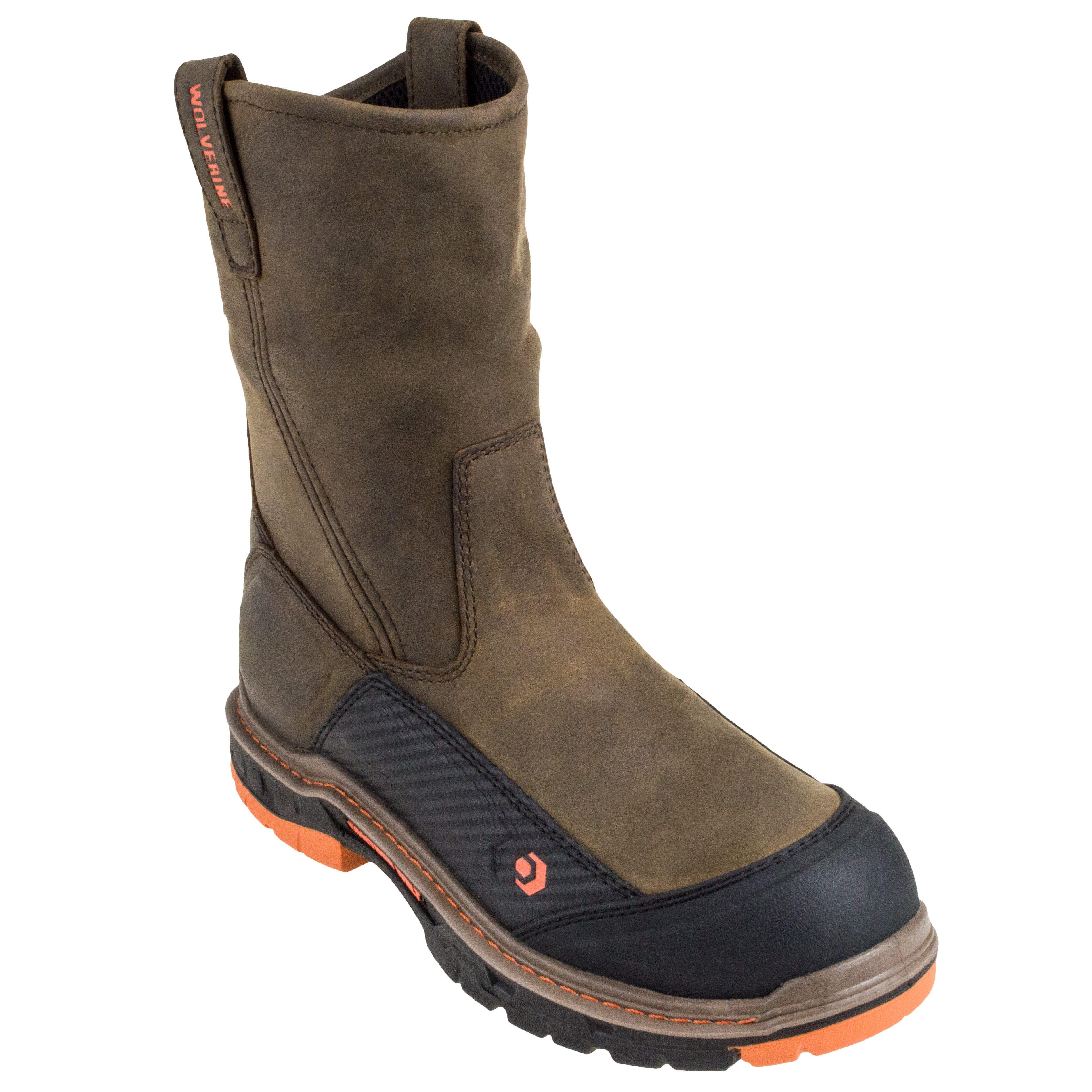 Thorogood 6 Inch Plain Steel Toe Brown Work Boots 804-3366 USA