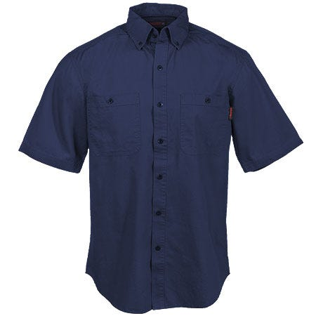 Wolverine Clothing Men's W1138600 417 Navy Ripstop Sledgehammer Work Shirt