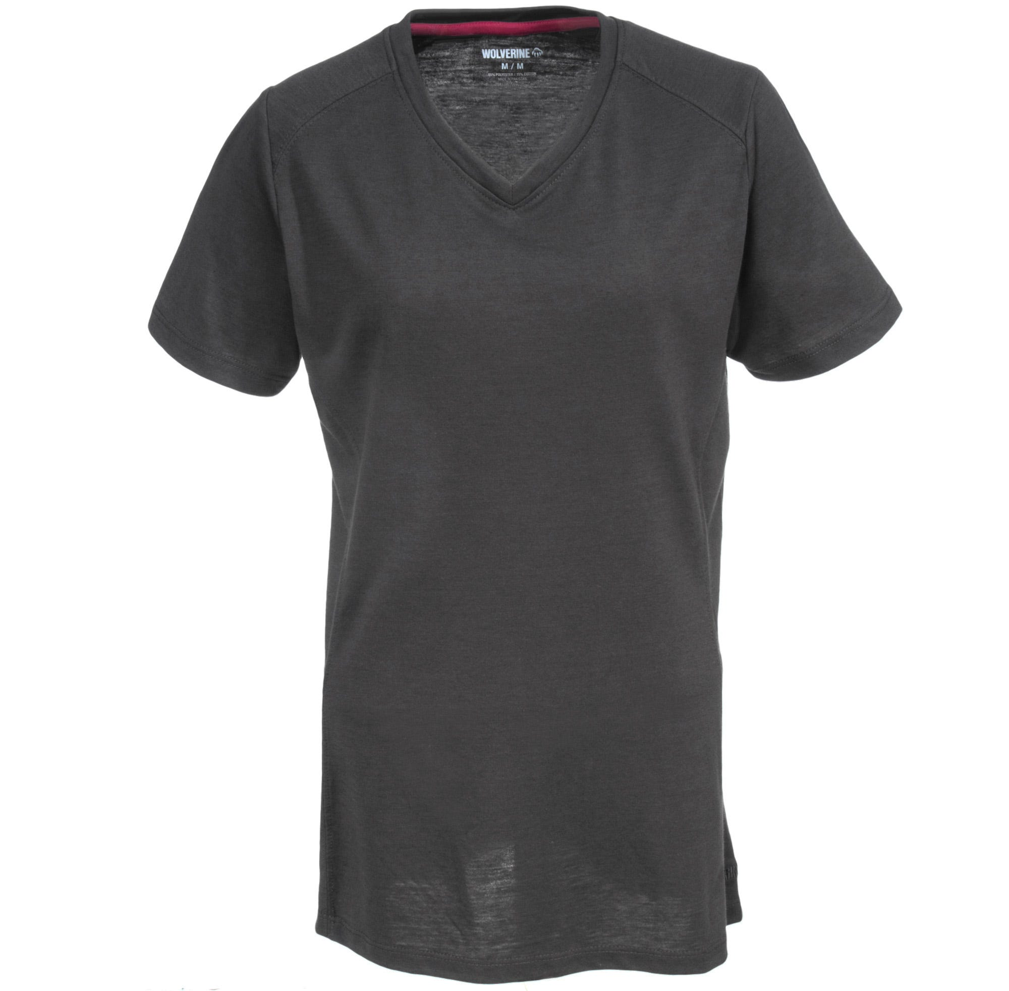 Wolverine W1204590 035 Women's Piper Pewter Grey V-Neck Shirt