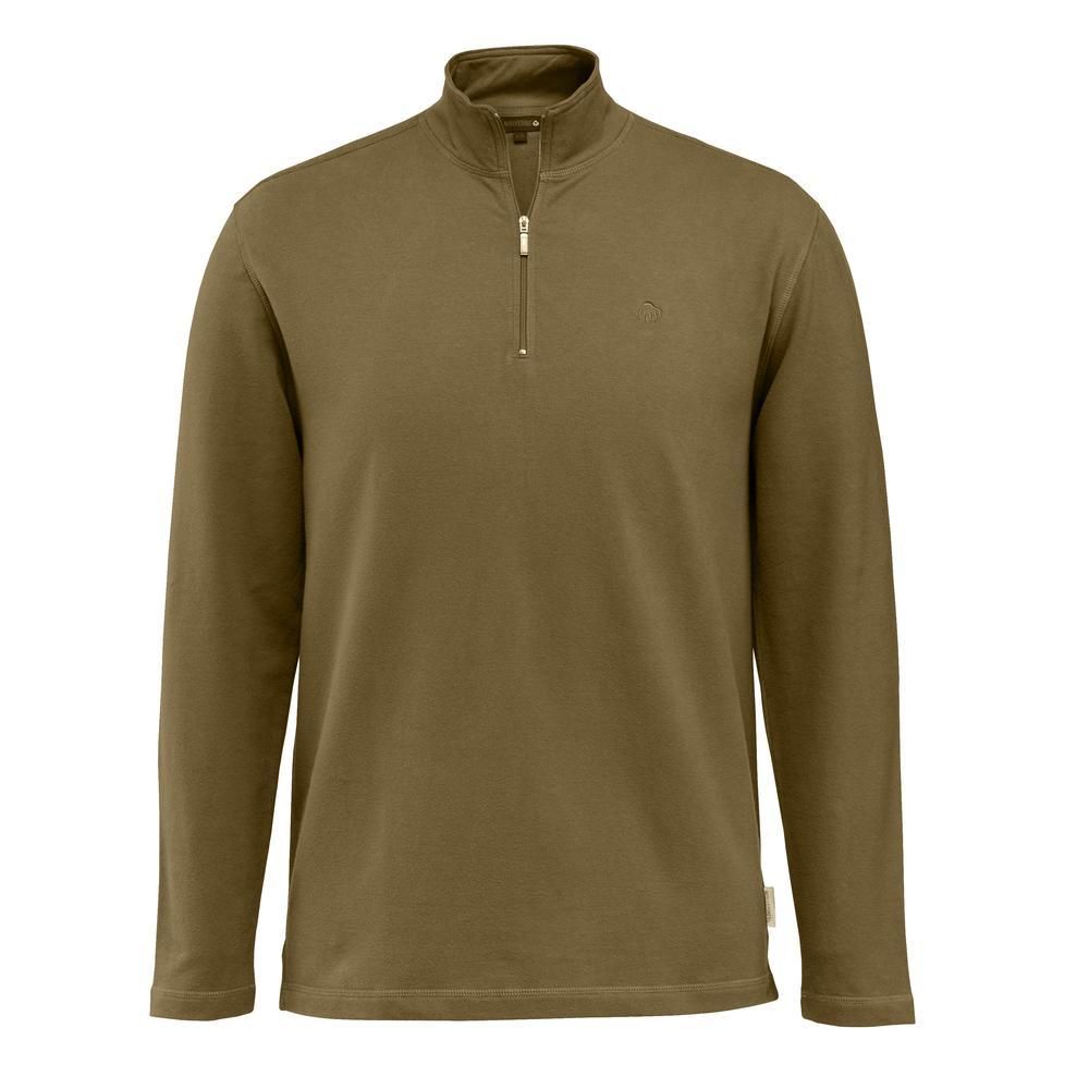 cd86c95adb Wolverine Shirts  Men s Benton W1204870 234 Peat Quarter-Zip Shirt ...