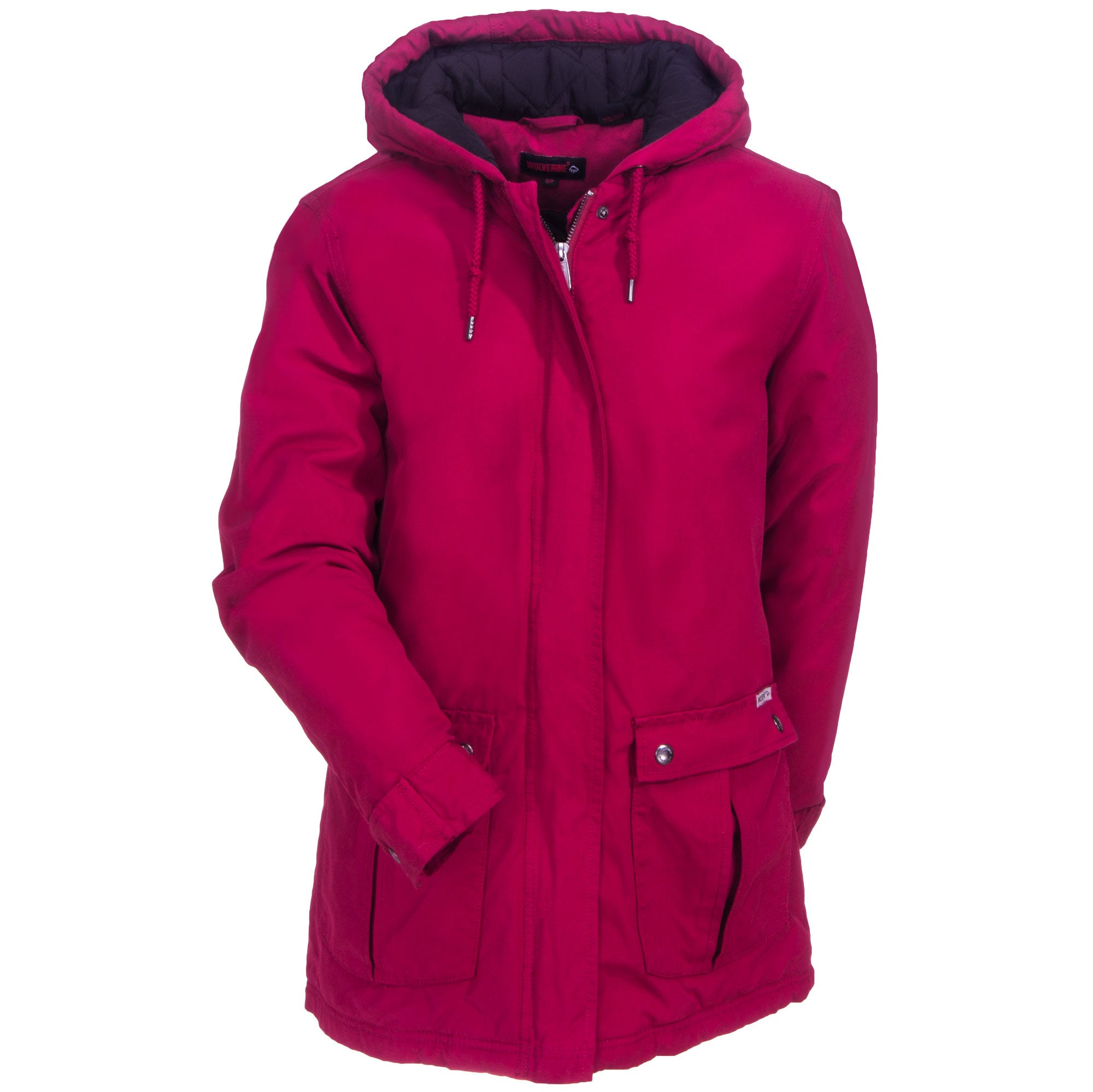 Wolverine Women's Insulated W1205020 621 Cardinal Red Sedona Canvas Jacket