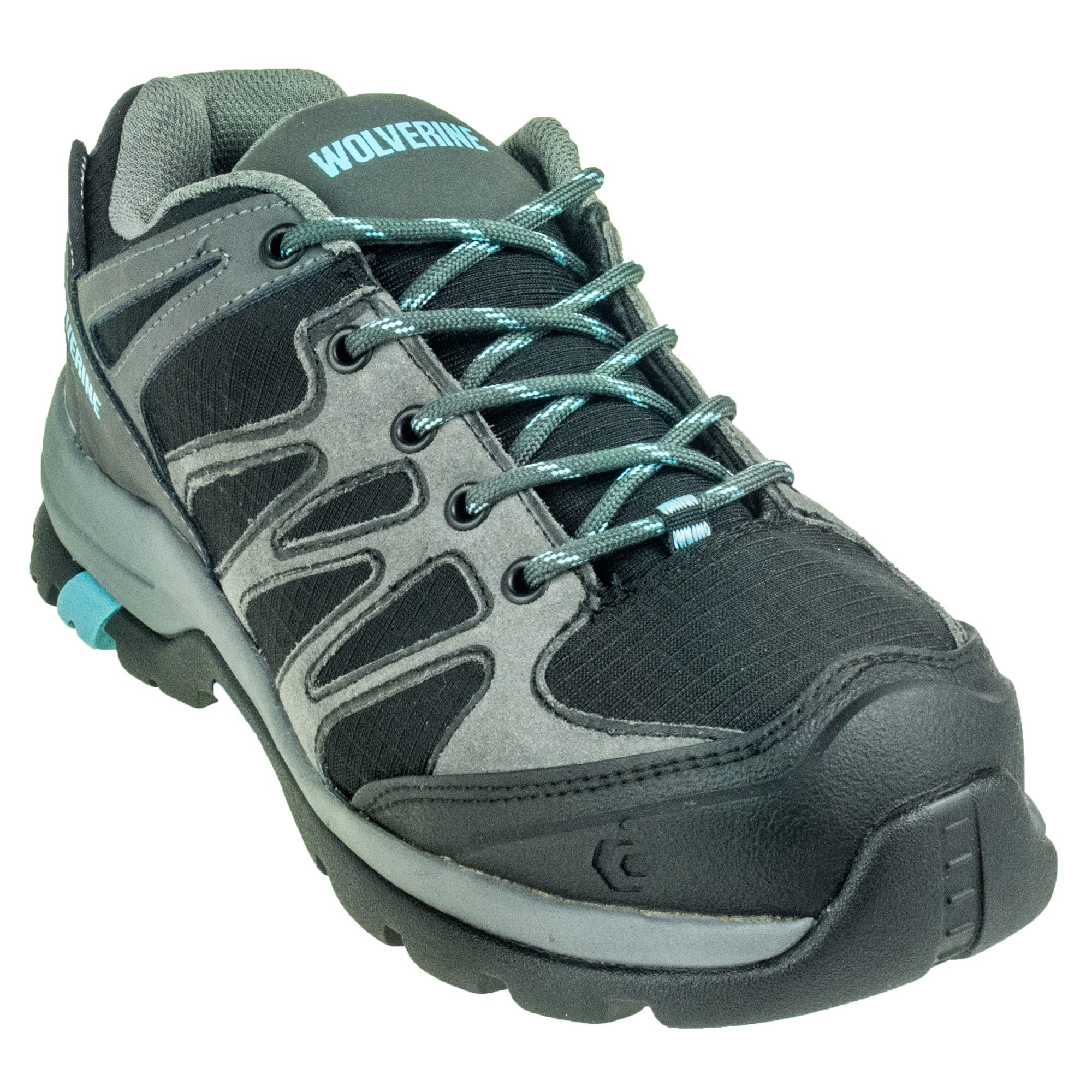 Wolverine Women's Black Waterproof 10580 Fletcher Composite Toe Work Shoes