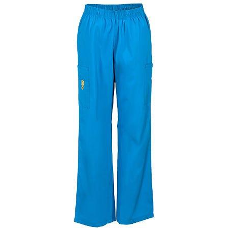 Wonderwink Women's Blue Quebec Scrub Pants 5016 MBL