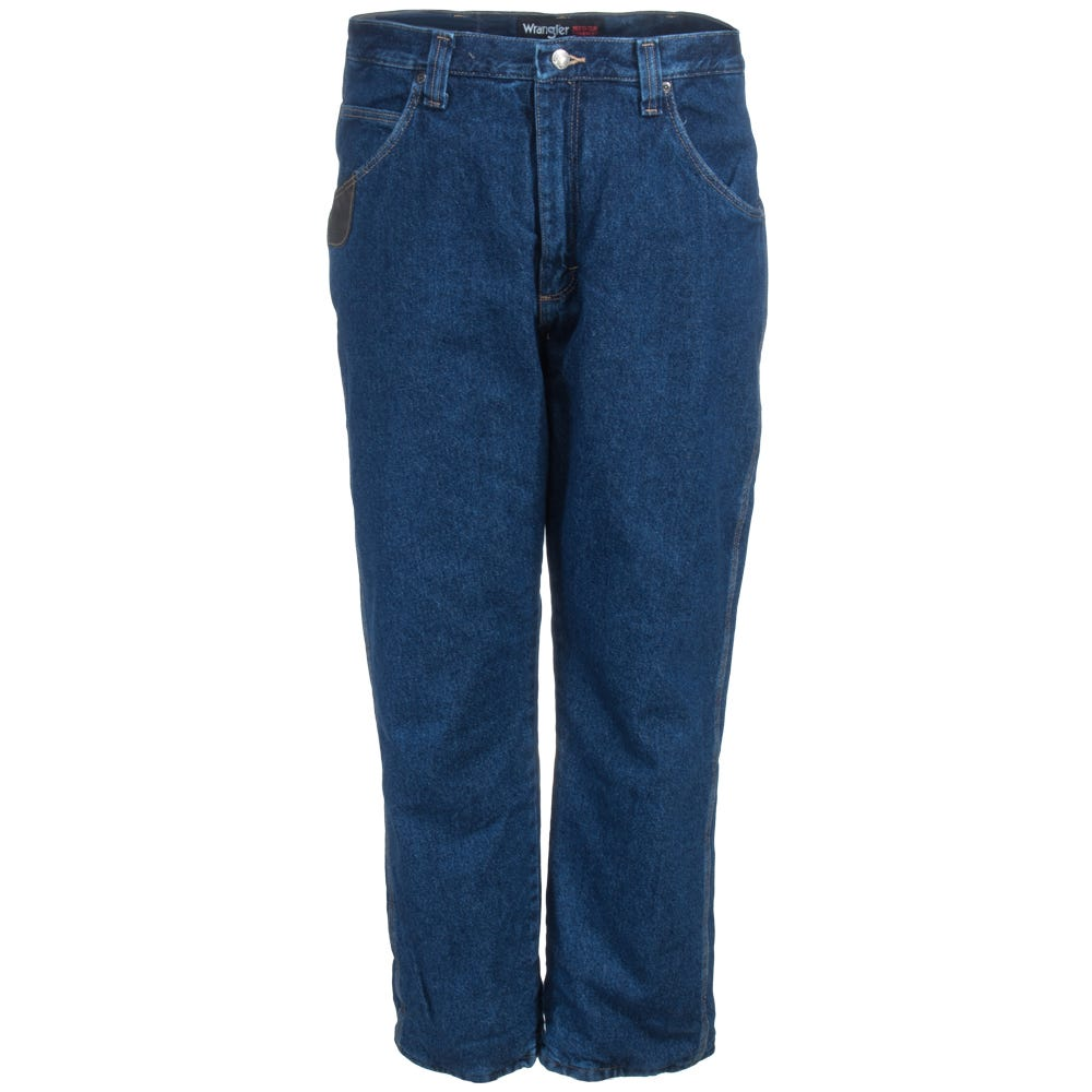 29a2740c4e4 Wrangler Jeans  Men s 3W055 TH Thinsulate-Lined Blue Black Relaxed ...