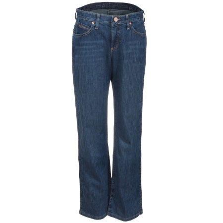 Wrangler Women's Denim Cowgirl Cut WRQ20 TB Denim Riding Jeans