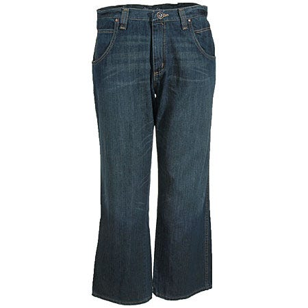 Wrangle Jeans: Men's Black Cotton Denim Straight Leg Jeans WRT30 WB Sale $44.00 Item#WRT30WB :