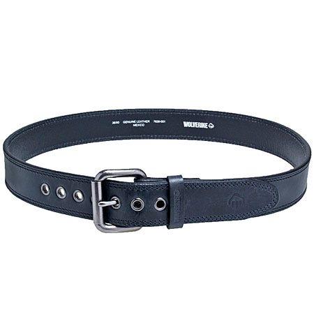 Wolverine Belts - Grommeted Black Belt WV7639 001 Sale $29.00 Item#WV7639-001 :